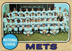 New York Mets baseball card