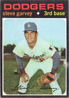 1971 Topps Steve Garvey Rookie Card