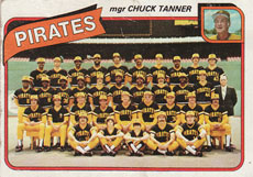 Pittsburgh Pirates baseball card